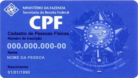 2 via cpf